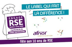 label Engage RSE banniere